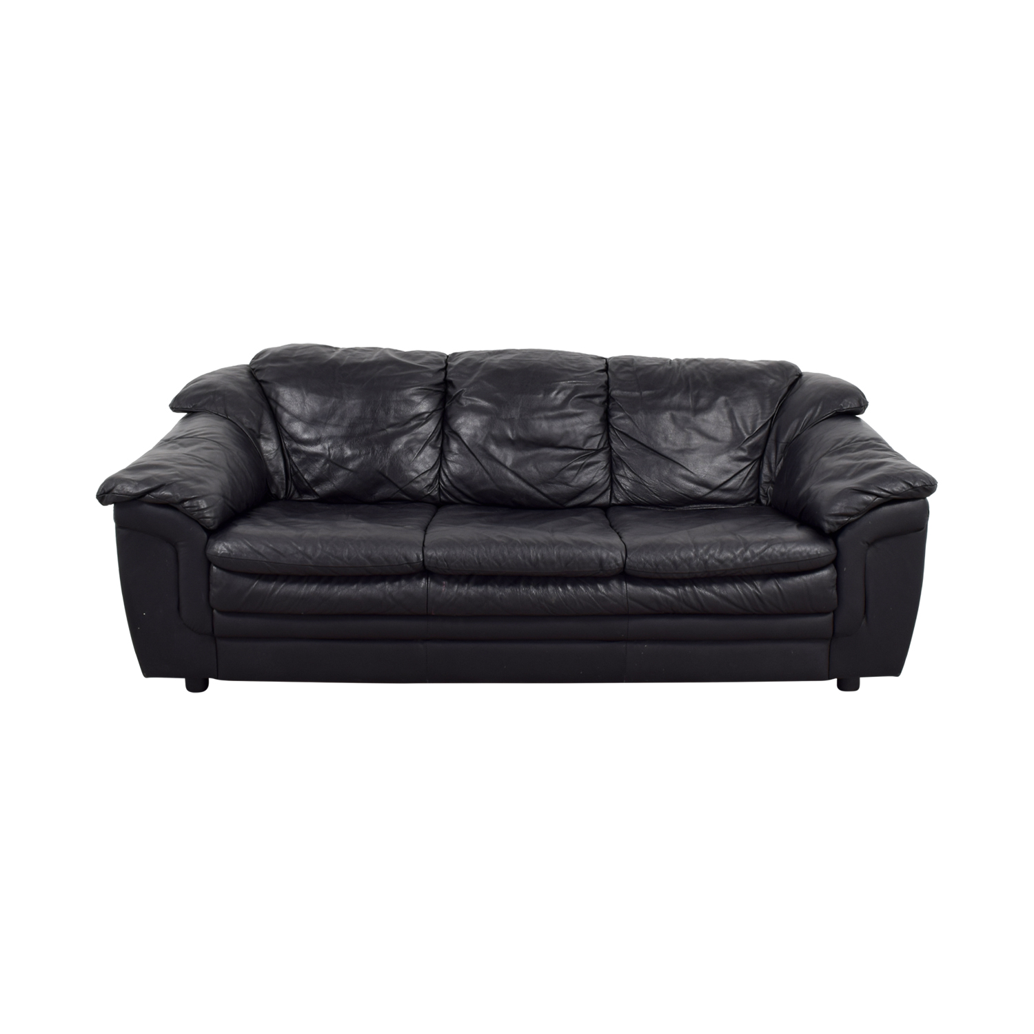 77 Off Jennifer Furniture Jennifer Leather Black