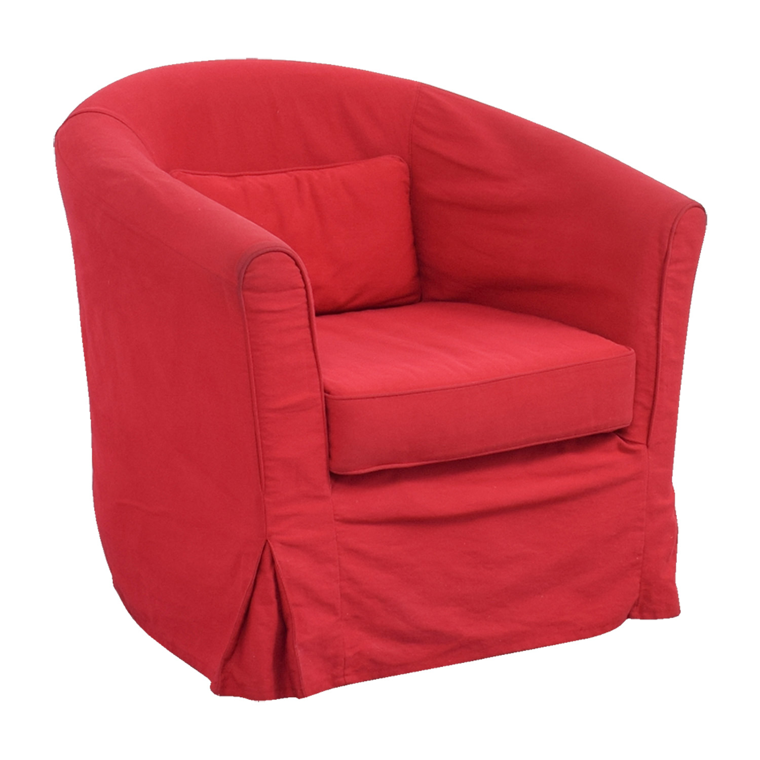 Surprising 82 Off Crate Barrel Crate Barrel Red Upholstered Chair With Removable Cover Chairs Gamerscity Chair Design For Home Gamerscityorg