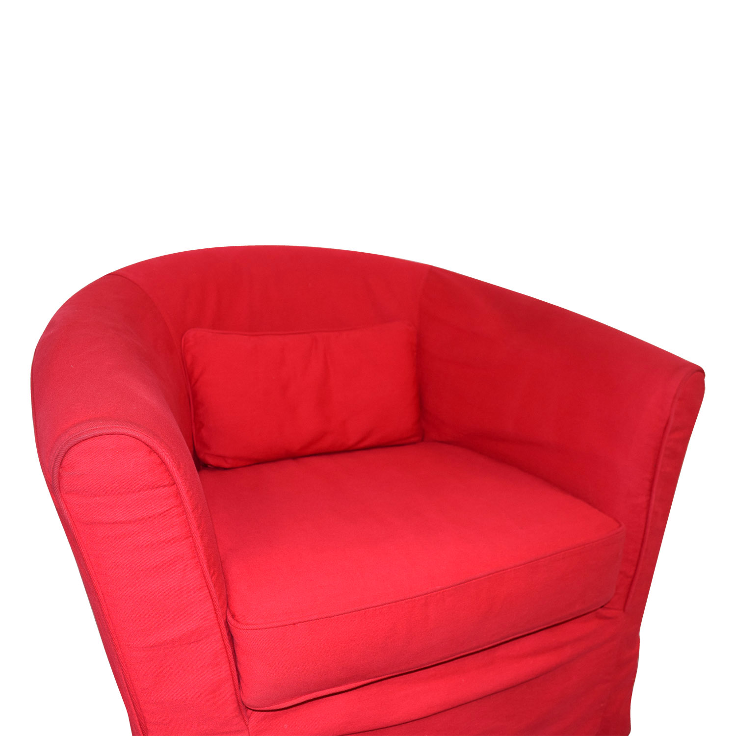 Tremendous 82 Off Crate Barrel Crate Barrel Red Upholstered Chair With Removable Cover Chairs Gamerscity Chair Design For Home Gamerscityorg