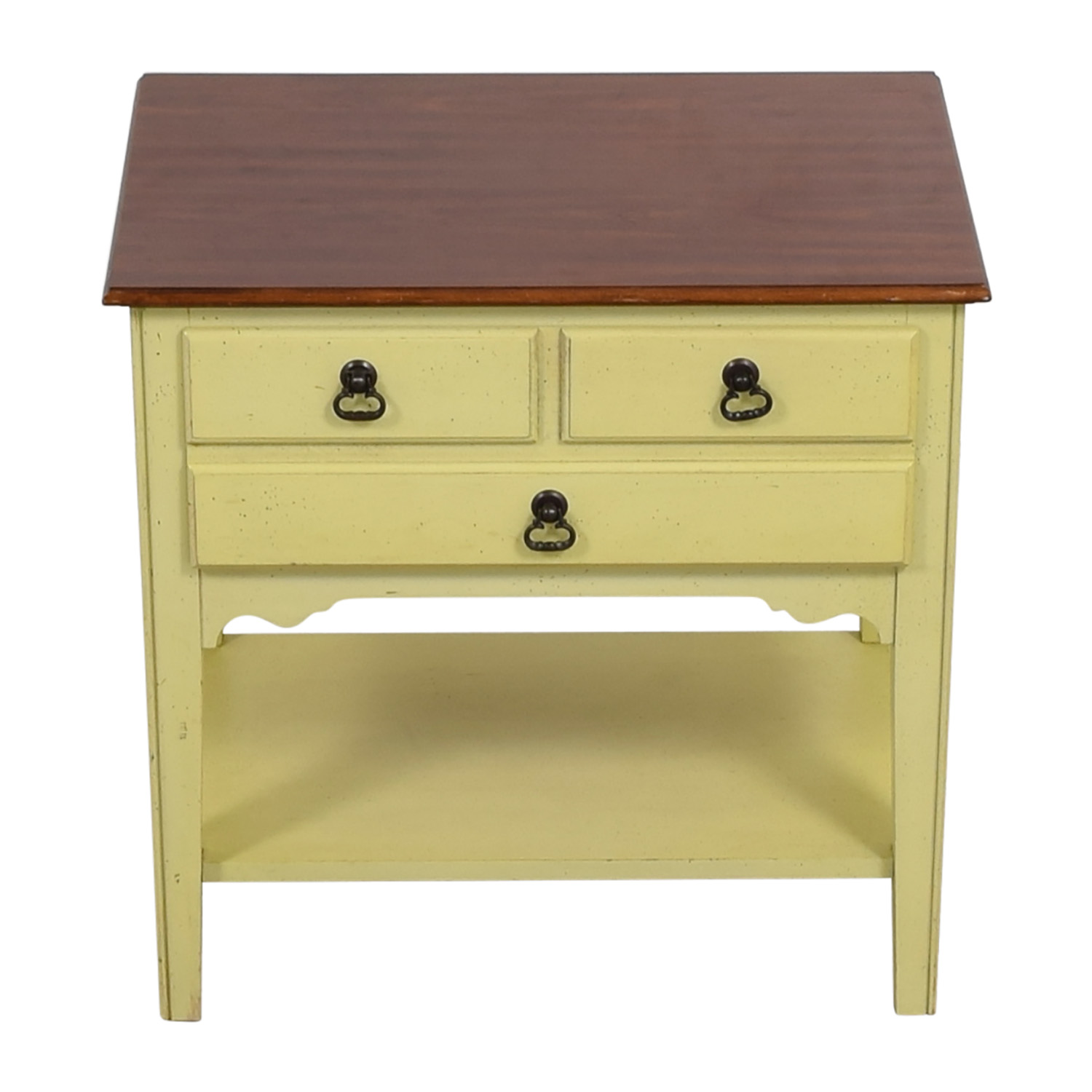 American of Martinsville American of Martinsville Light Green Nightstand Sofas