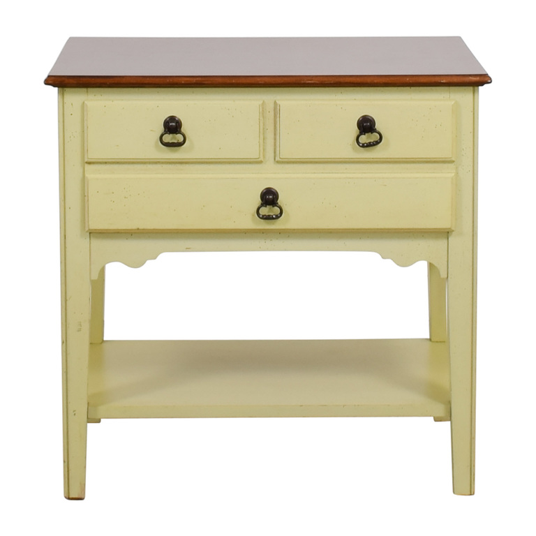American of Martinsville Light Green Nightstand sale