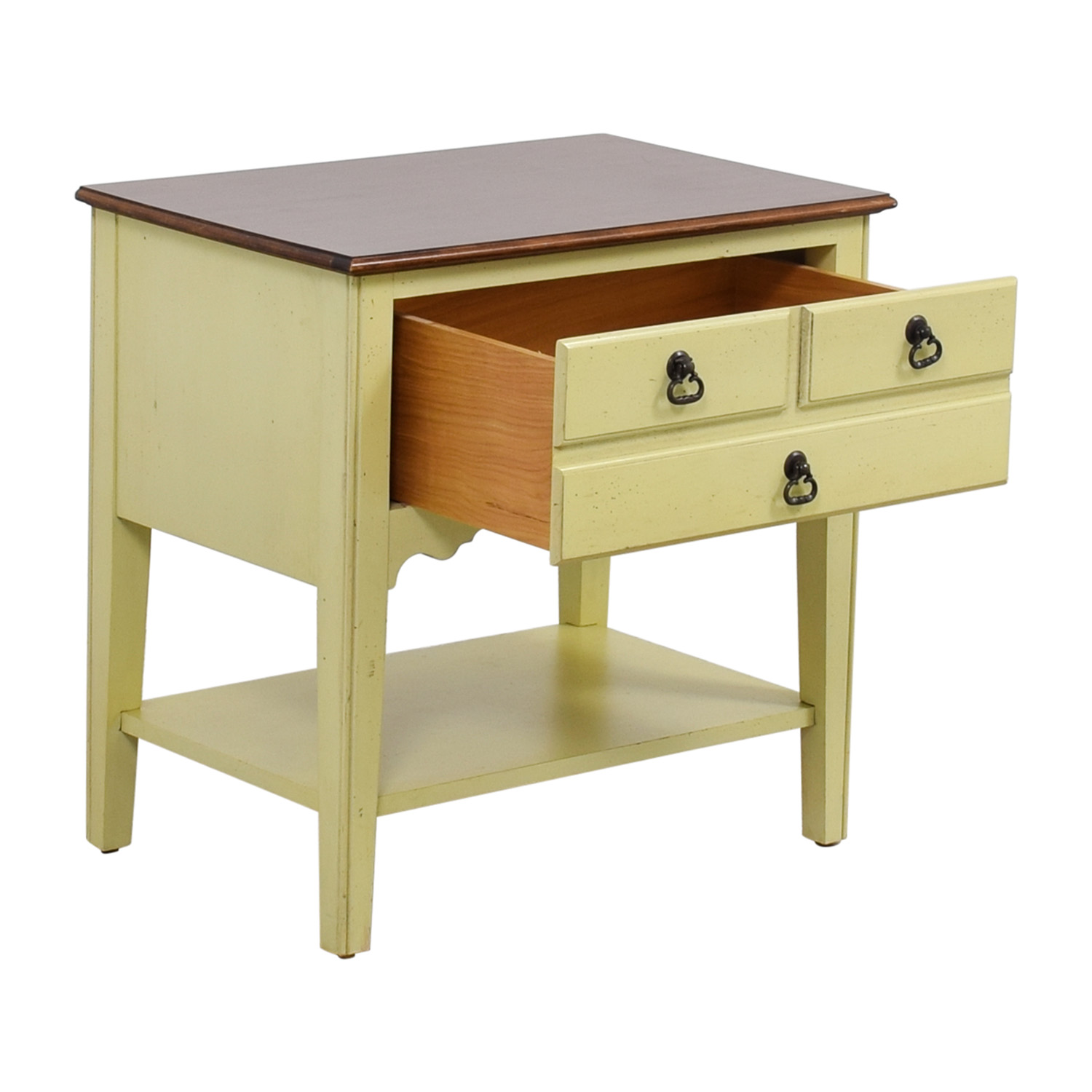 American of Martinsville American of Martinsville Light Green Nightstand dimensions