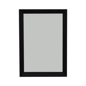 Ethan Allen Ethan Allen Art Deco  Black Wood Framed Mirror