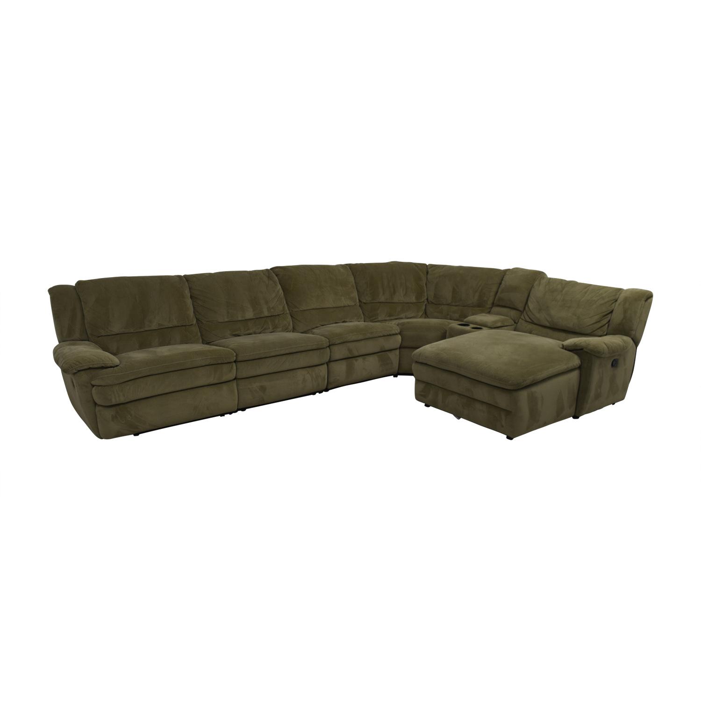 82 Off Bob S Furniture Bob S Furniture Grey L Shaped