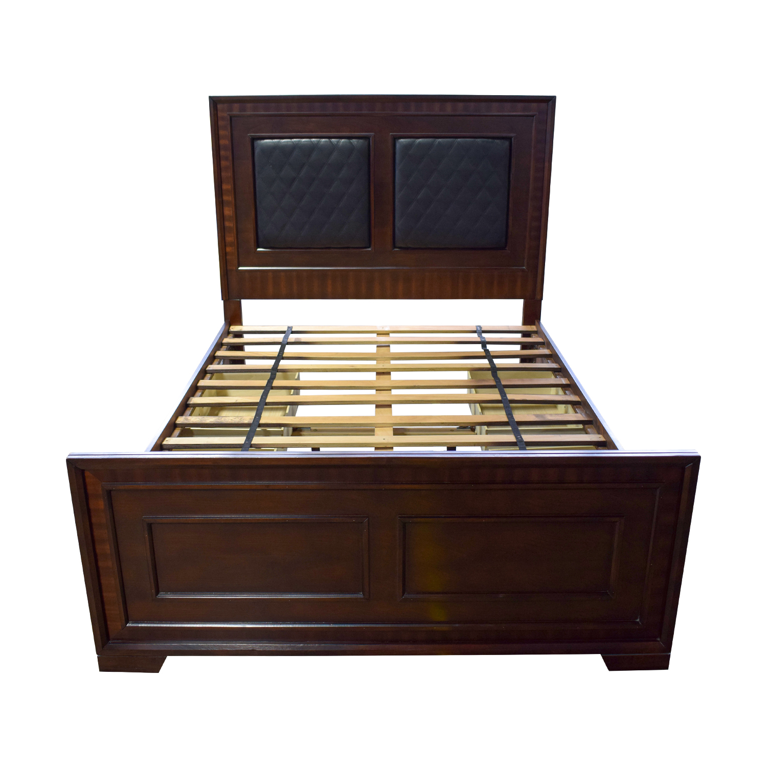 Bob's Furniture Bob's Furniture Jason Storage Queen Bed Frame on sale