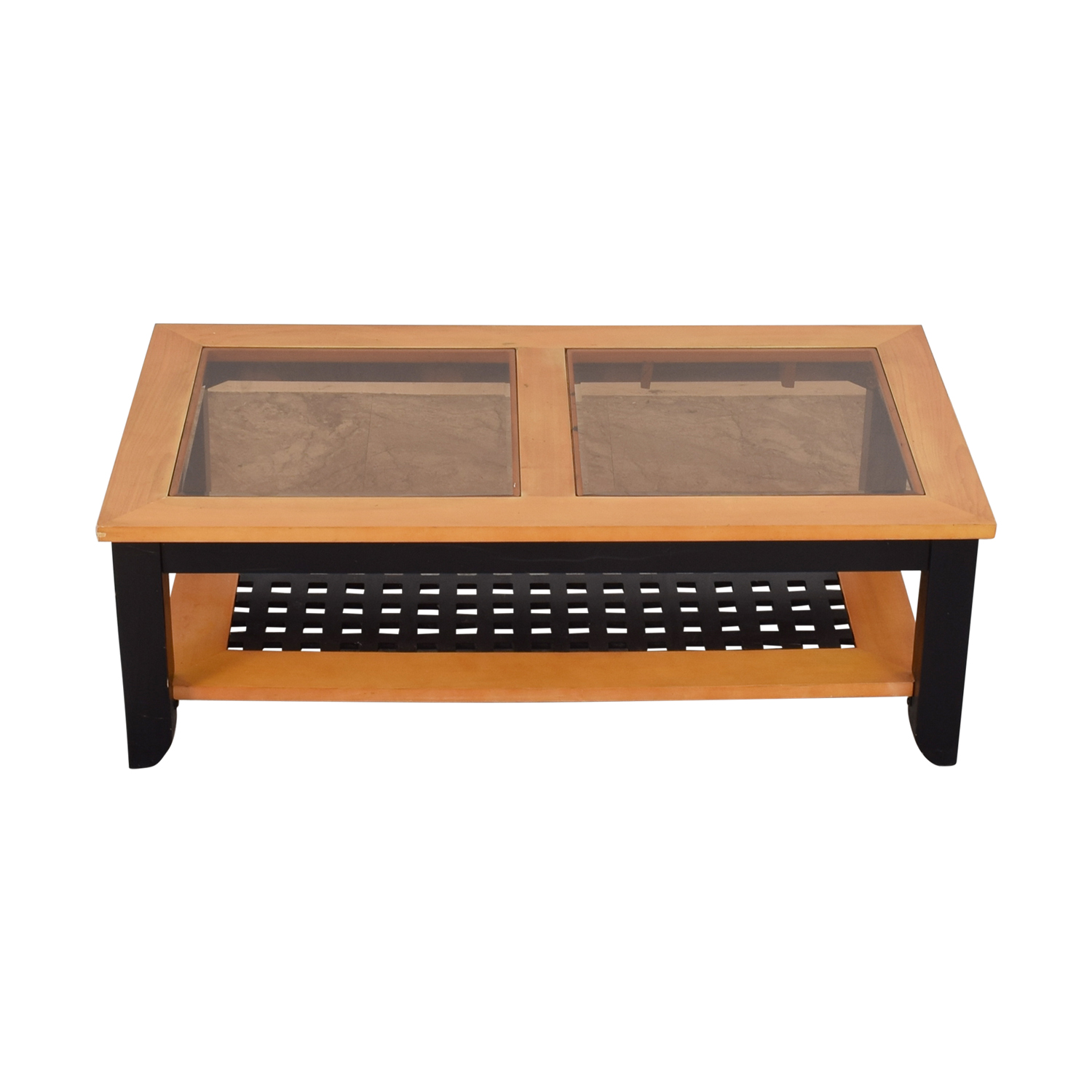 Smoke Glass Top Coffee Table price