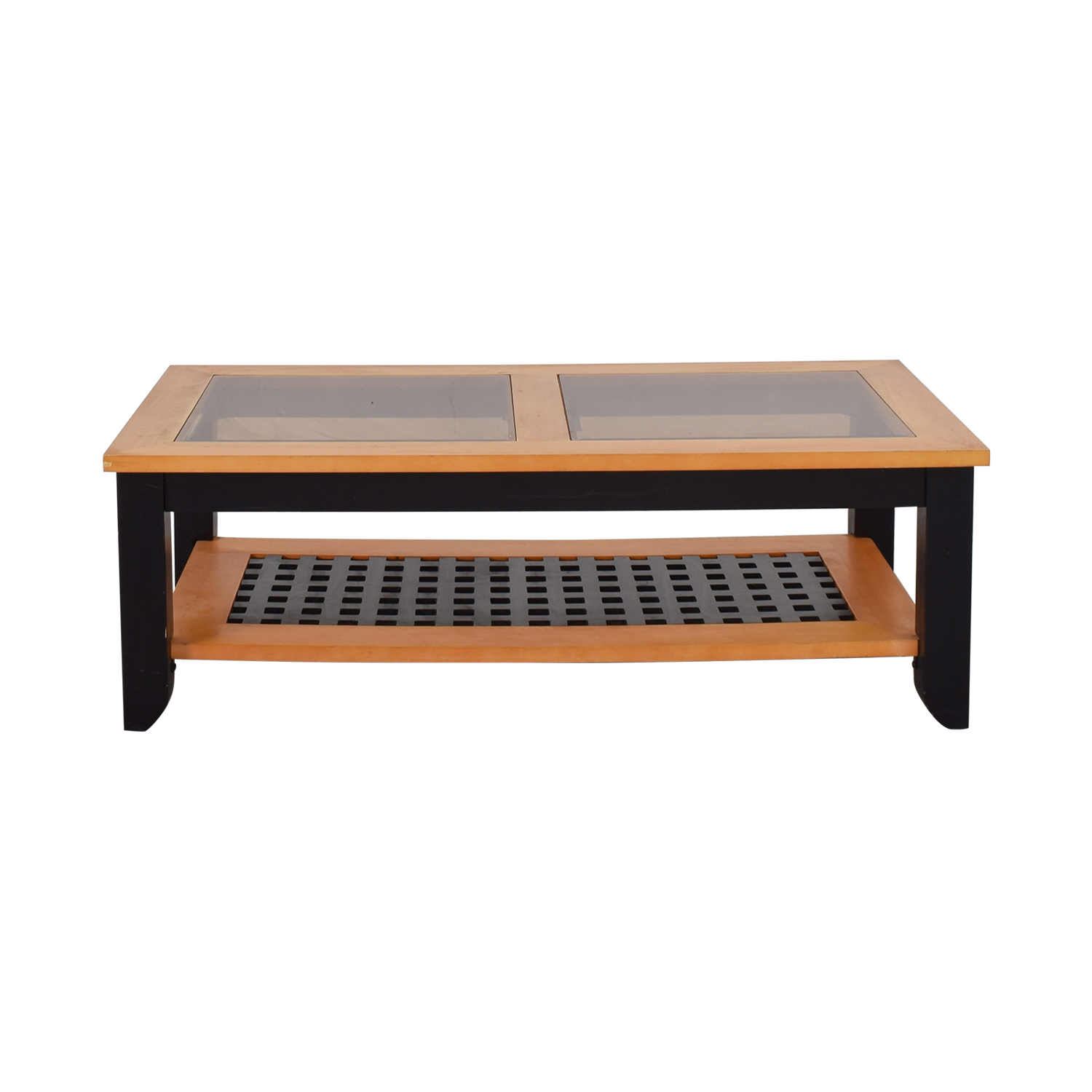 buy  Smoke Glass Top Coffee Table online