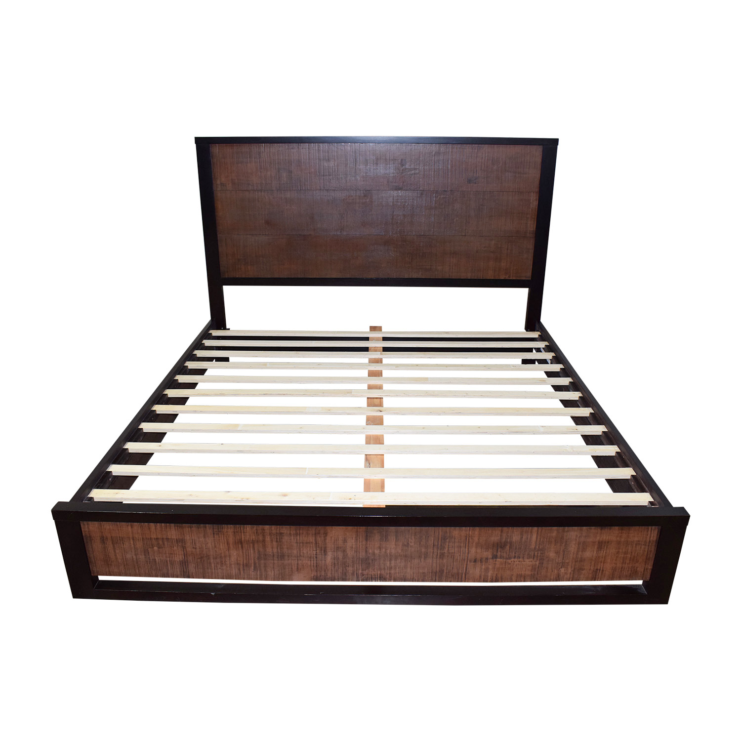 Casana Axel Wood King Bed Frame Casana