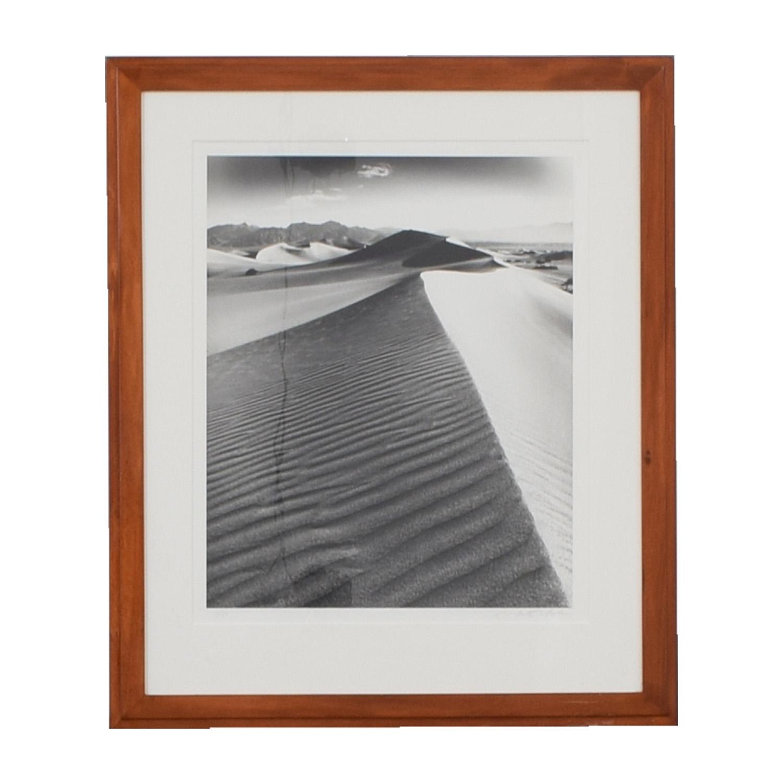 Desert Sand Framed Artwork dimensions