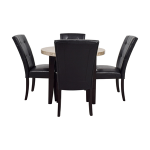 shop  Faux Marble Kitchen Table with Chairs online