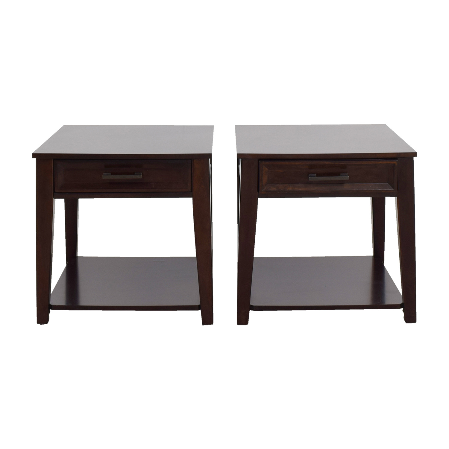 Single Drawer Dark Cherry Night Stands coupon