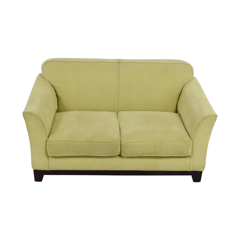 Moda Chartreuse Two-Cushion Loveseat / Loveseats