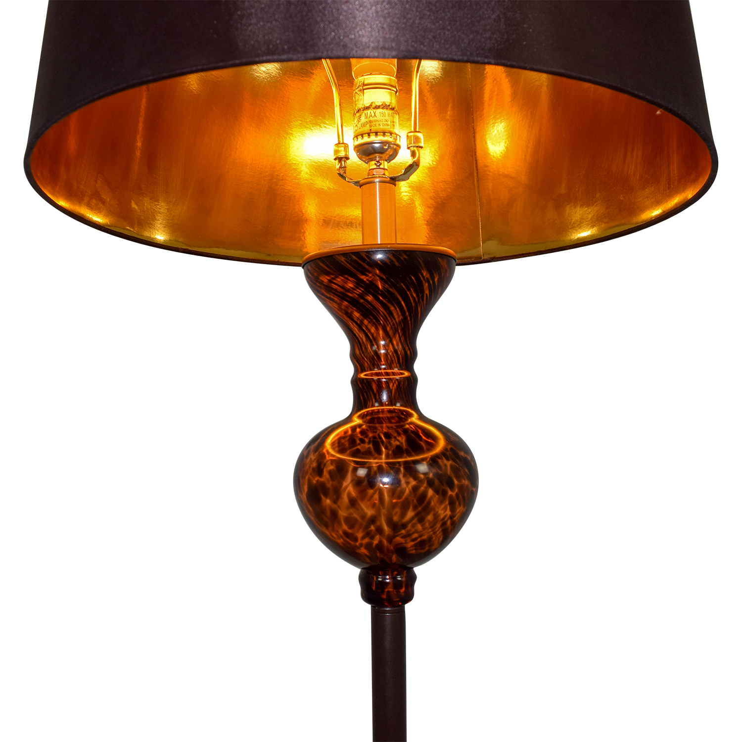 78 Off Pier 1 Imports Amber Tall Lamp Decor