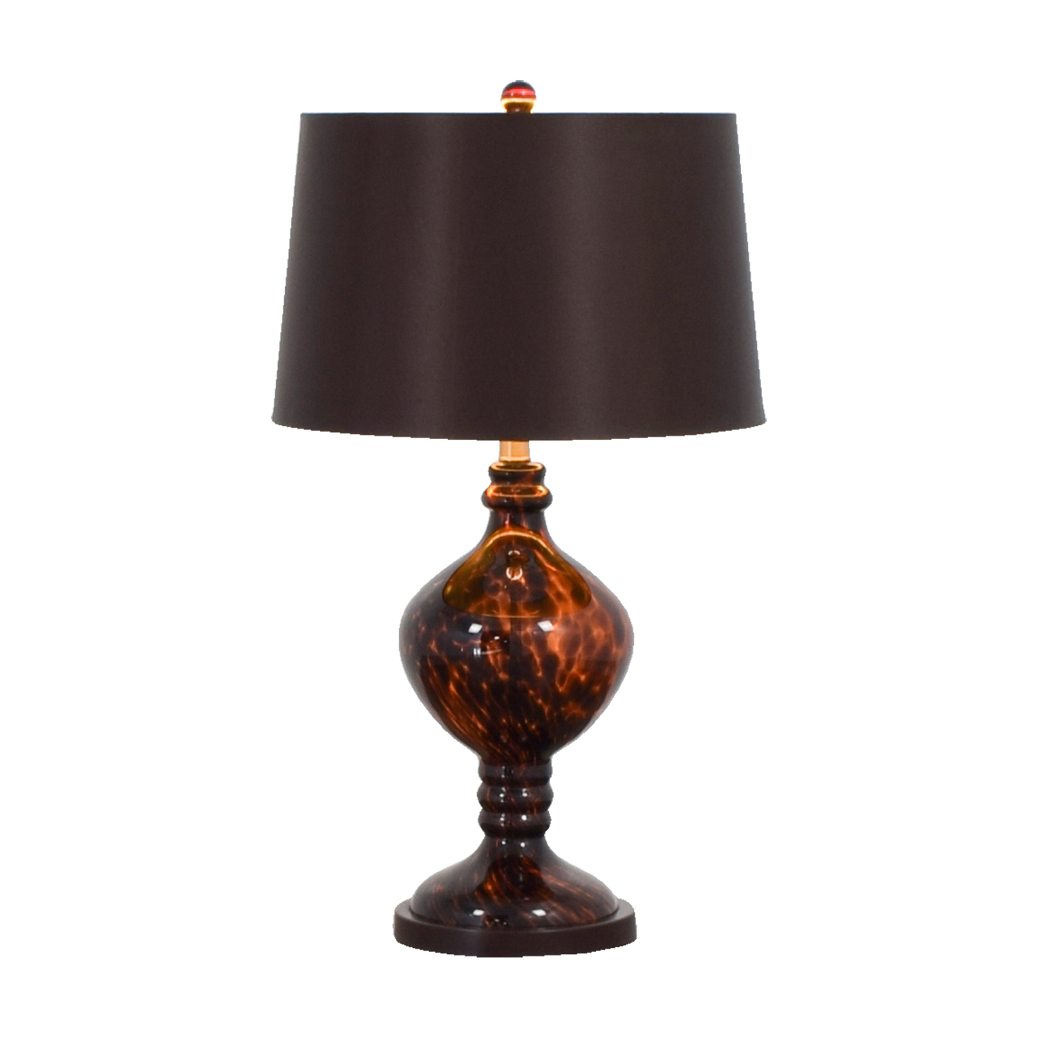 82 Off Pier 1 Imports Amber Table Lamp Decor