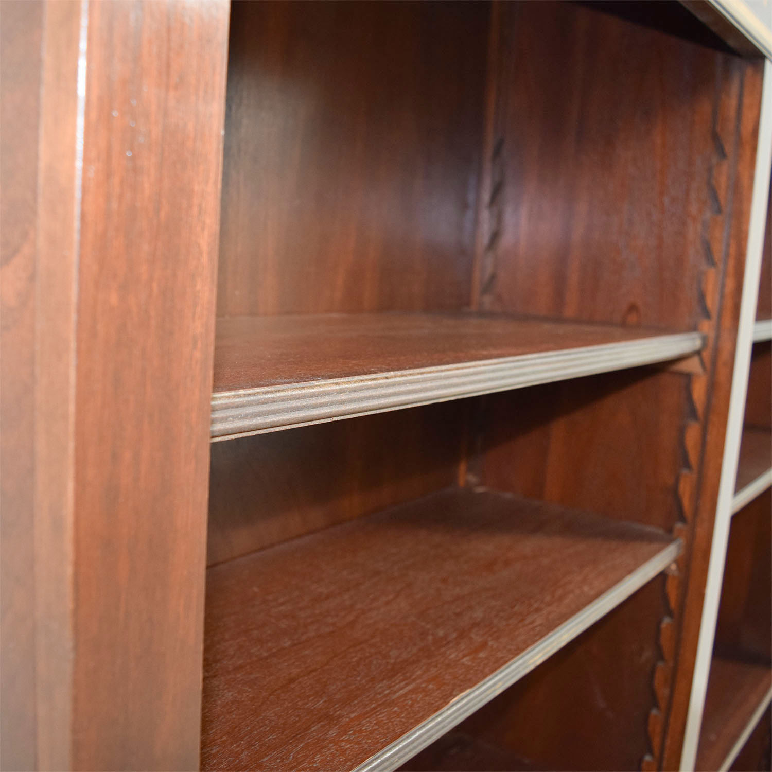 ... Antique Cherry Bookshelf with Dentil Moulding dimensions ... - 75% OFF - Antique Cherry Bookshelf With Dentil Moulding / Storage