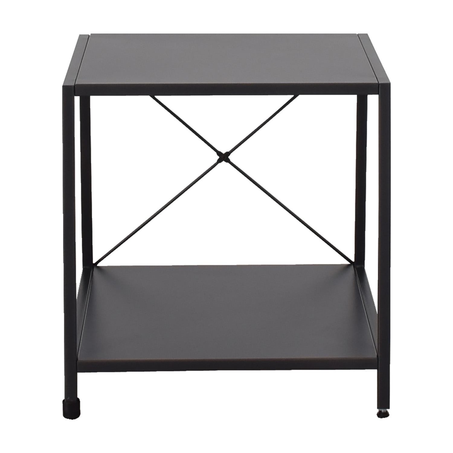 CB2 CB2 Charcoal Nightstand nyc