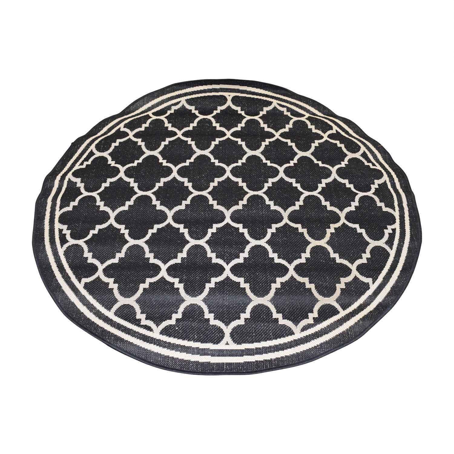 Safavieh Safavieh Courtyard Round Black Rug coupon