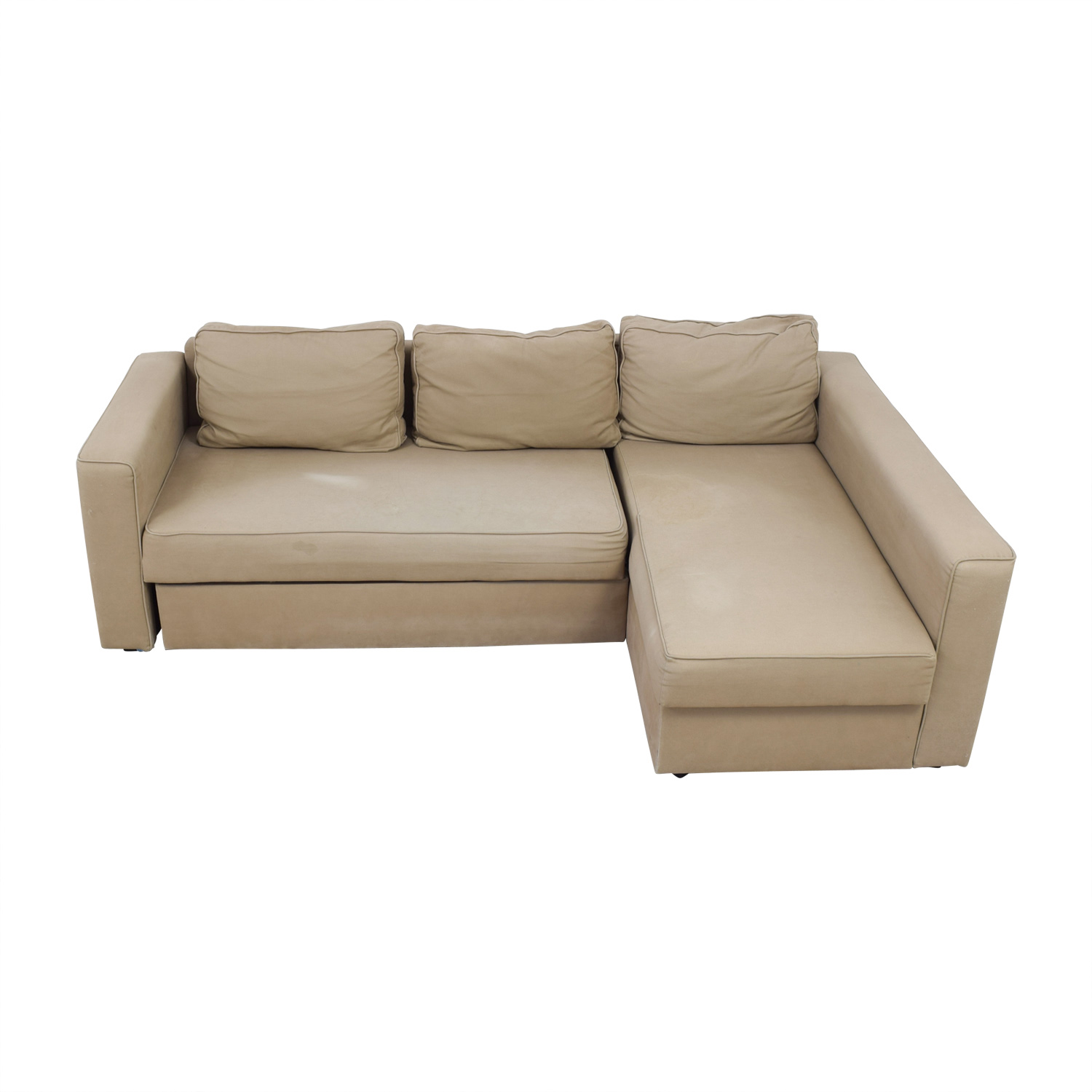 Prime 62 Off Ikea Ikea Manstad Sectional Sofa Bed With Storage Sofas Beutiful Home Inspiration Aditmahrainfo