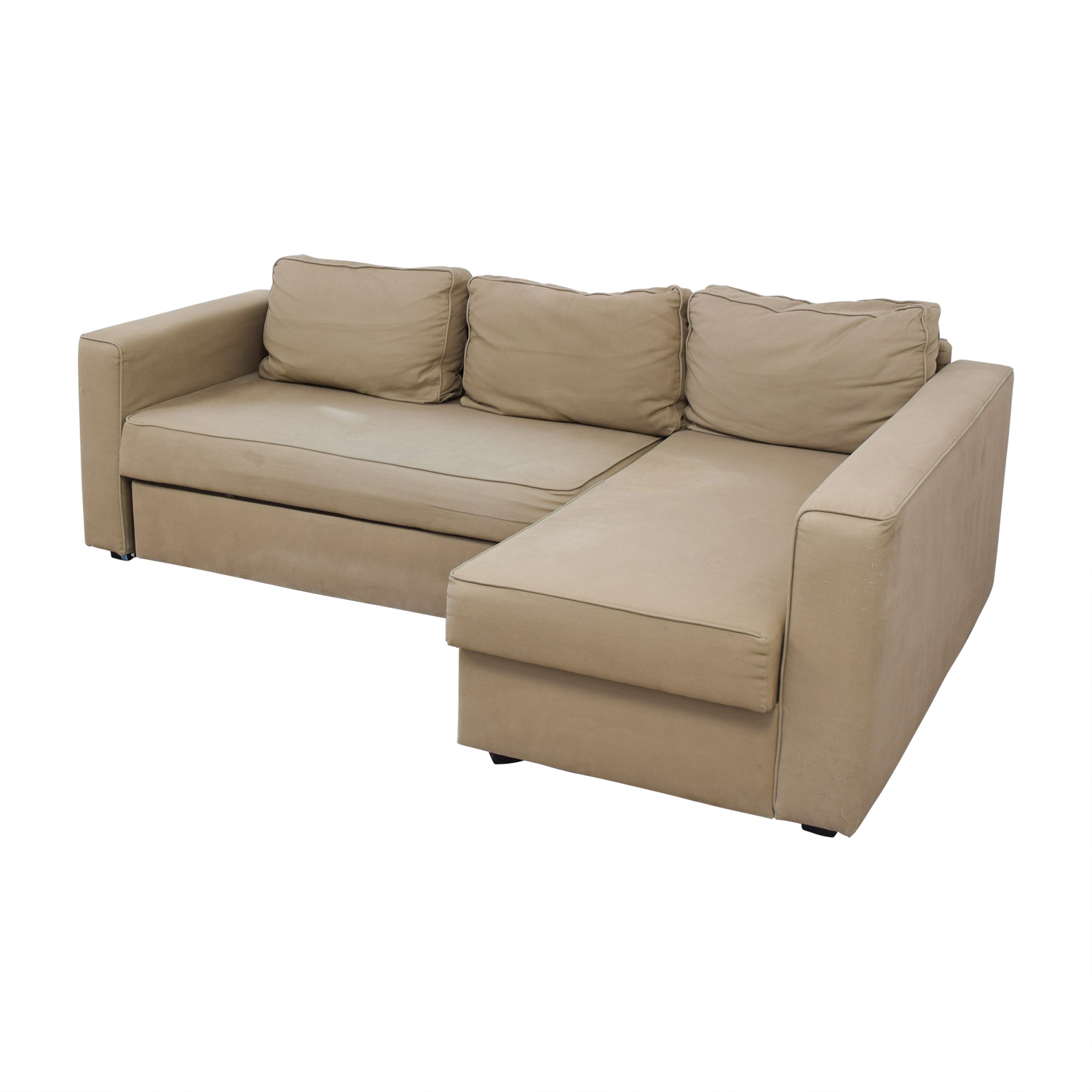 Beau ... Buy IKEA Manstad Sectional Sofa Bed With Storage IKEA ...