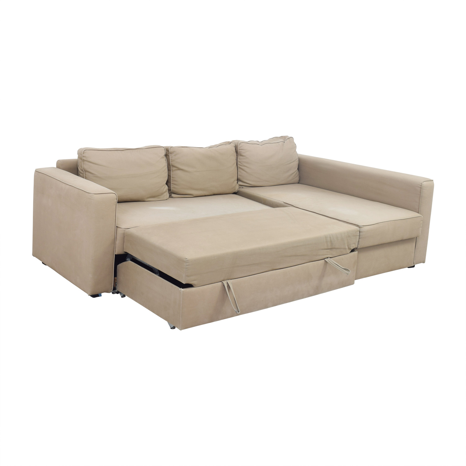 Brilliant 62 Off Ikea Ikea Manstad Sectional Sofa Bed With Storage Sofas Beutiful Home Inspiration Aditmahrainfo