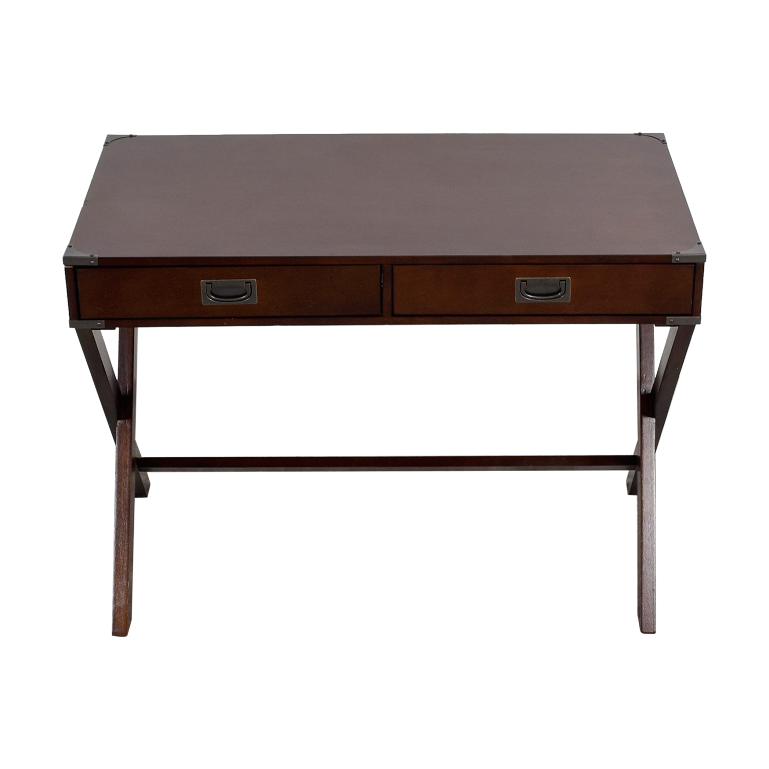 buy Mackin Two-Drawer Writing Desk Mackin Tables