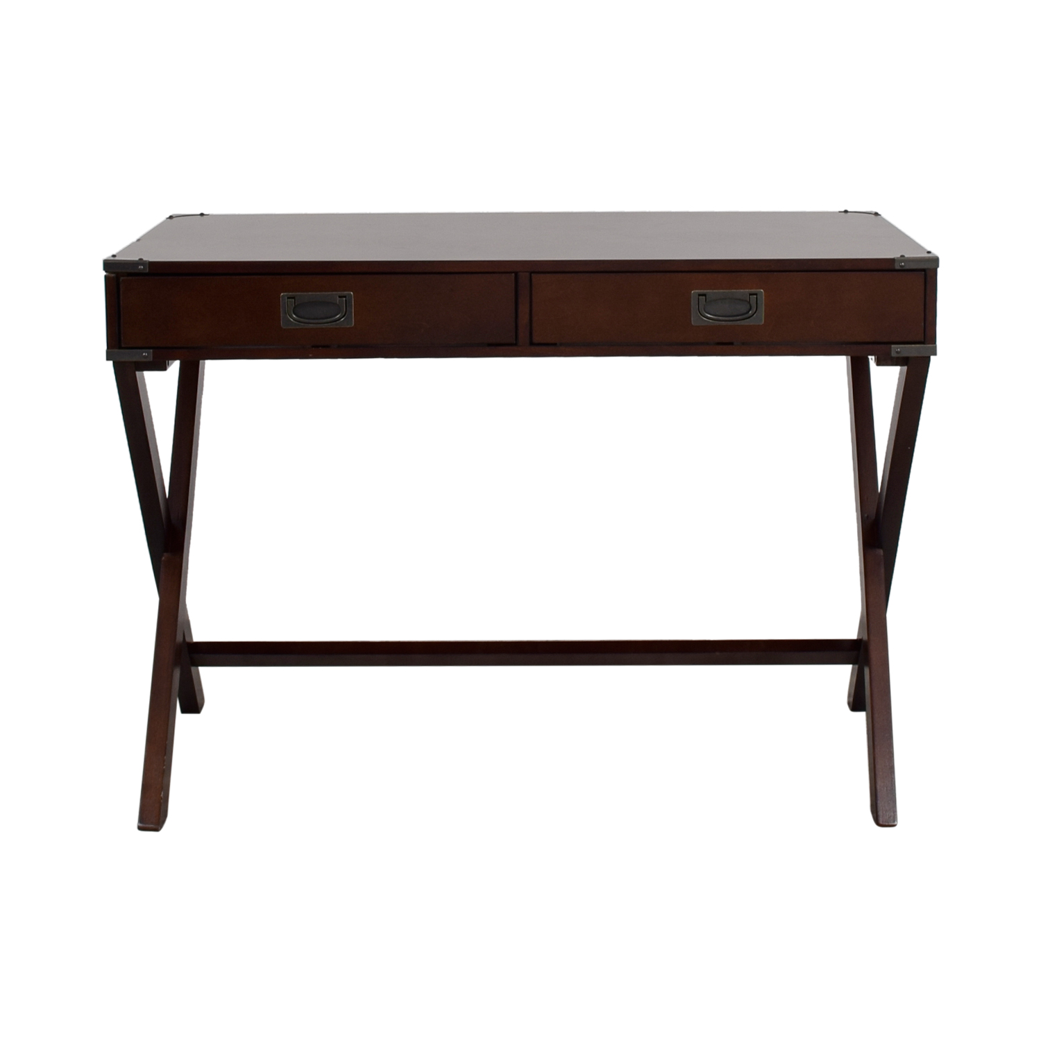 Mackin Mackin Two-Drawer Writing Desk used