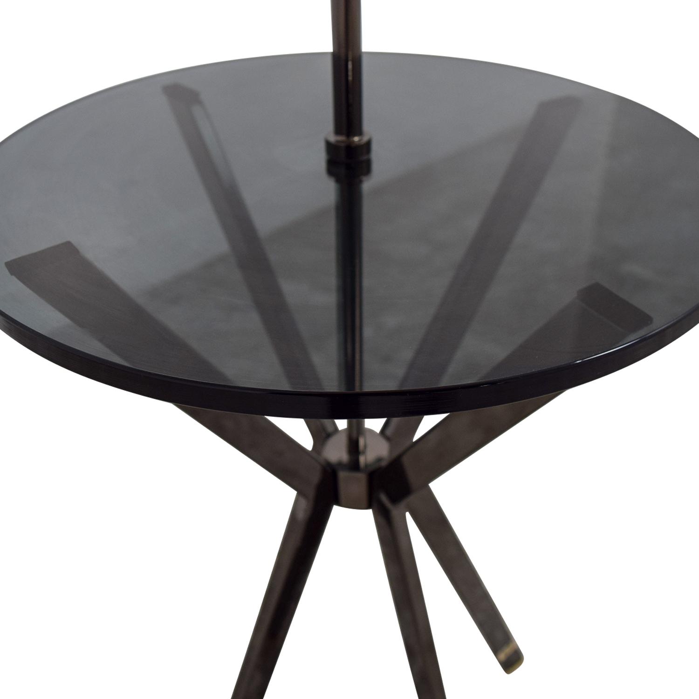 68 off west elm west elm floor lamp with table attached. Black Bedroom Furniture Sets. Home Design Ideas