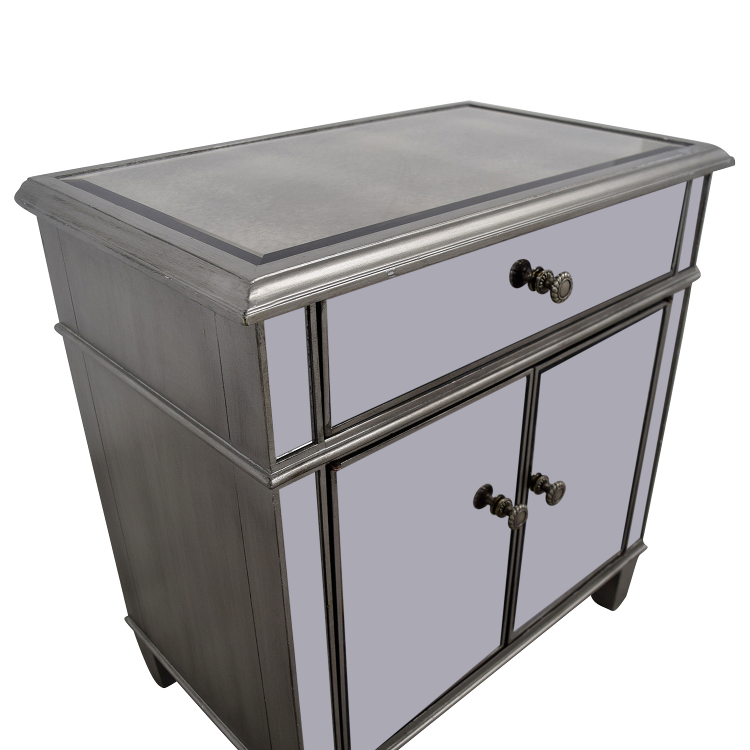Single Drawer Mirrored Cabinet / Storage