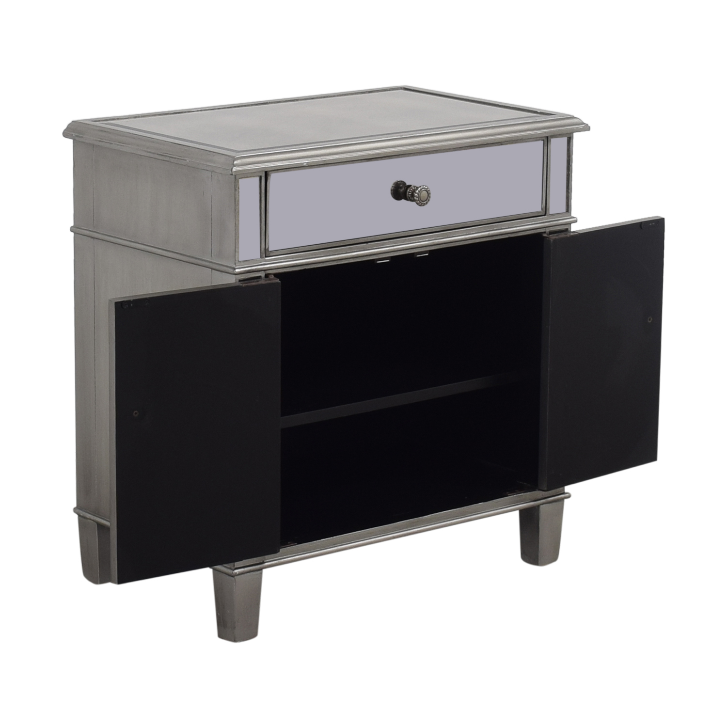 shop Single Drawer Mirrored Cabinet Storage