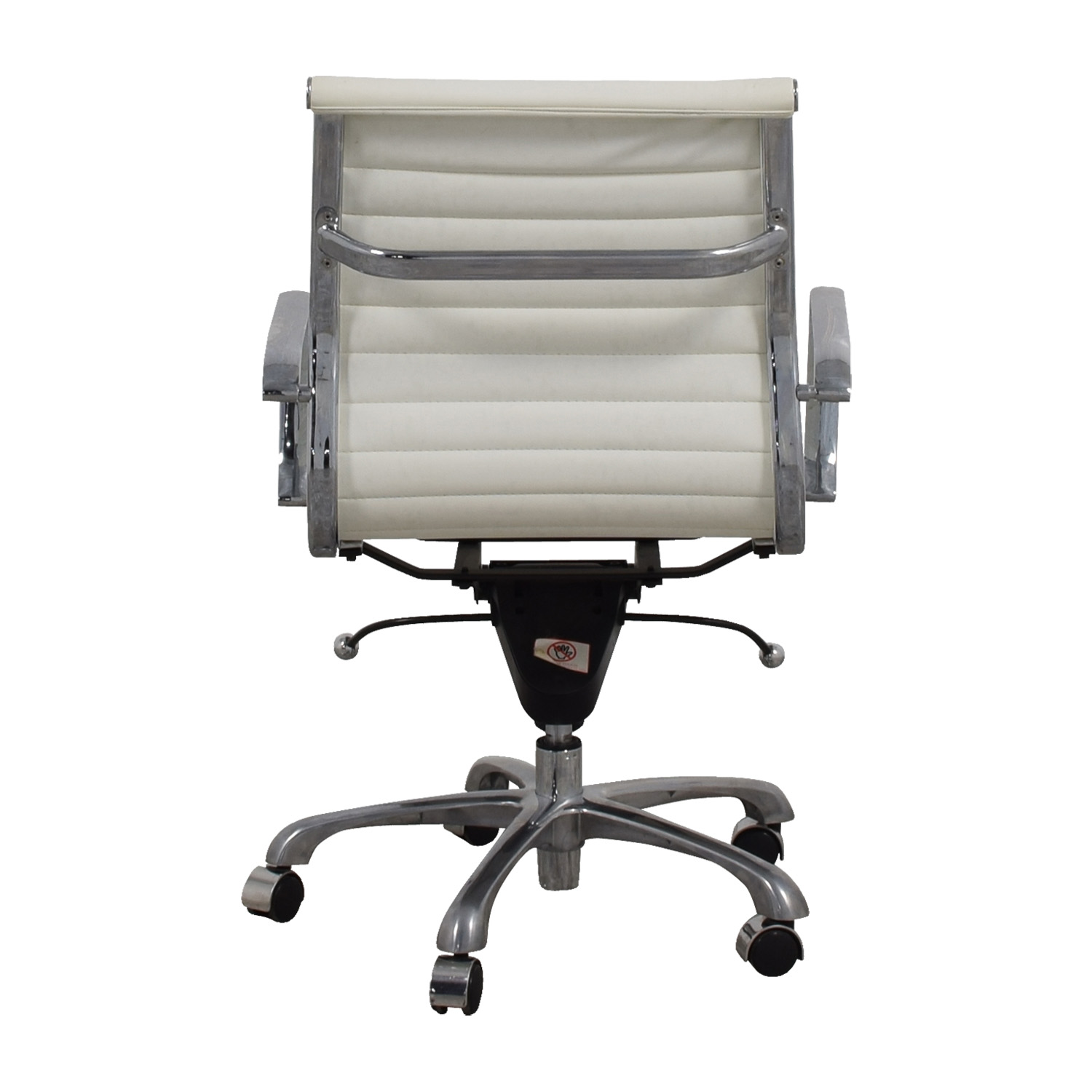 buy  White and Chrome Office Chair online