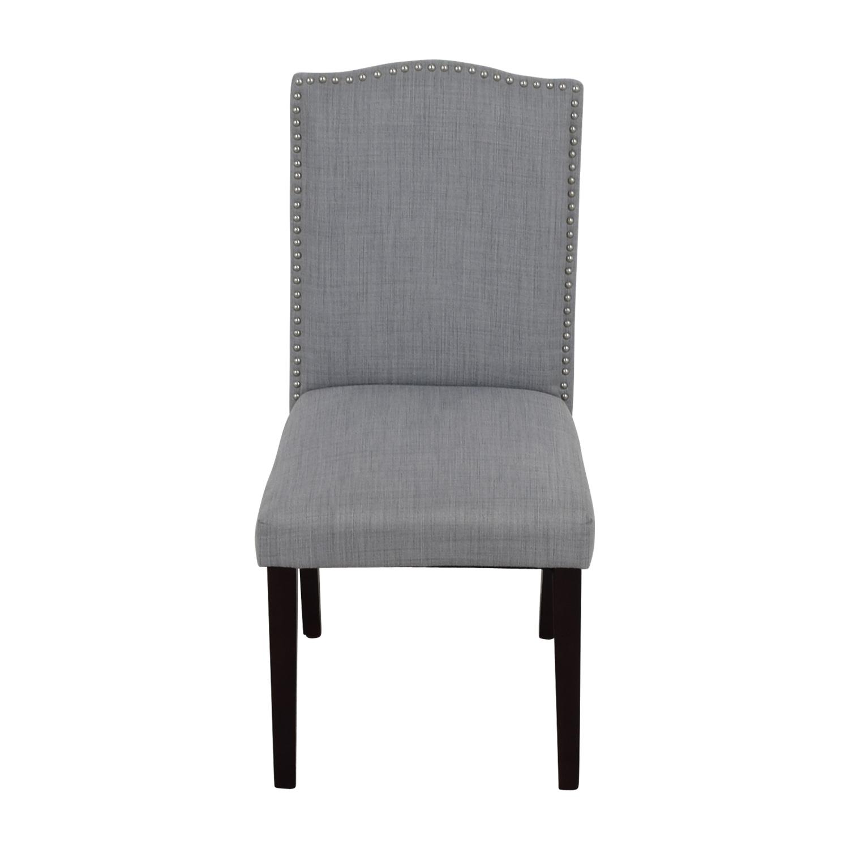 Astounding 78 Off Threshold Target Threshold Brookline Grey Nailhead Dining Chair Chairs Machost Co Dining Chair Design Ideas Machostcouk