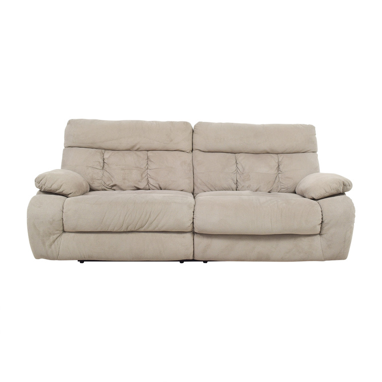 Ashley Furniture Ashley Furniture Beige Reclining Sofa price