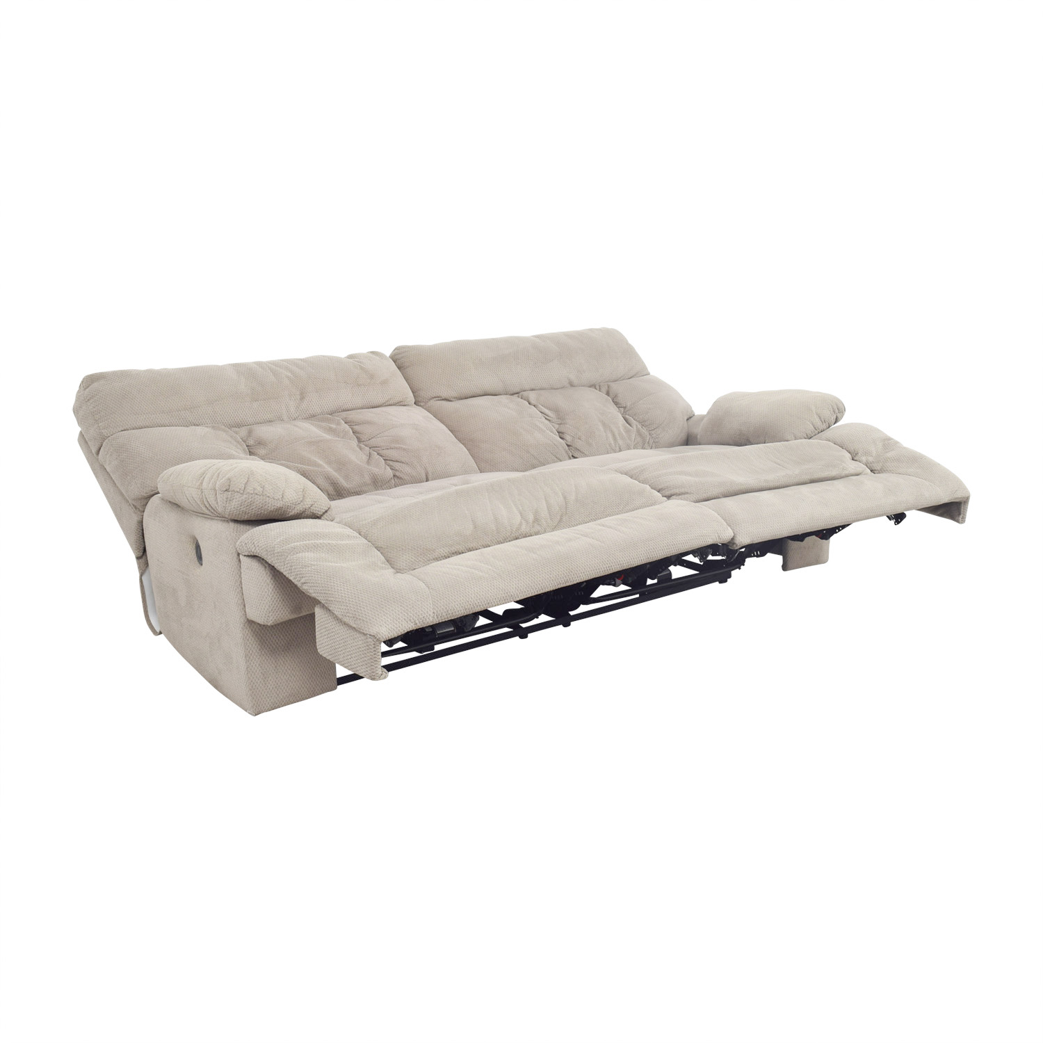 75 Off Ashley Furniture Ashley Furniture Beige Reclining Sofa Chairs