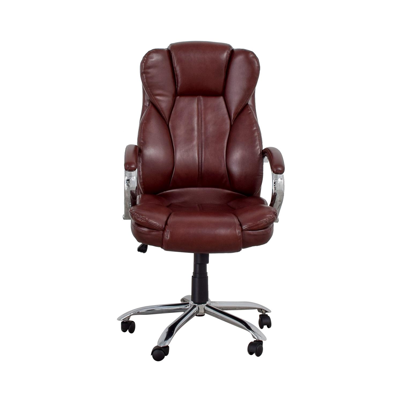 Outstanding 45 Off Best Office Burgundy Office Chair Chairs Machost Co Dining Chair Design Ideas Machostcouk