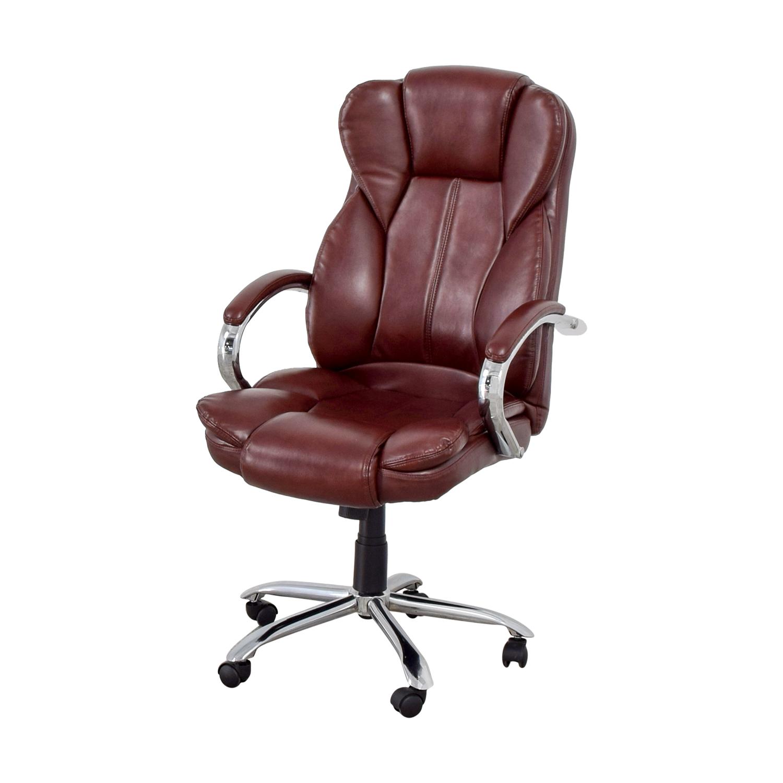 45 Off Best Office Best Office Burgundy Office Chair