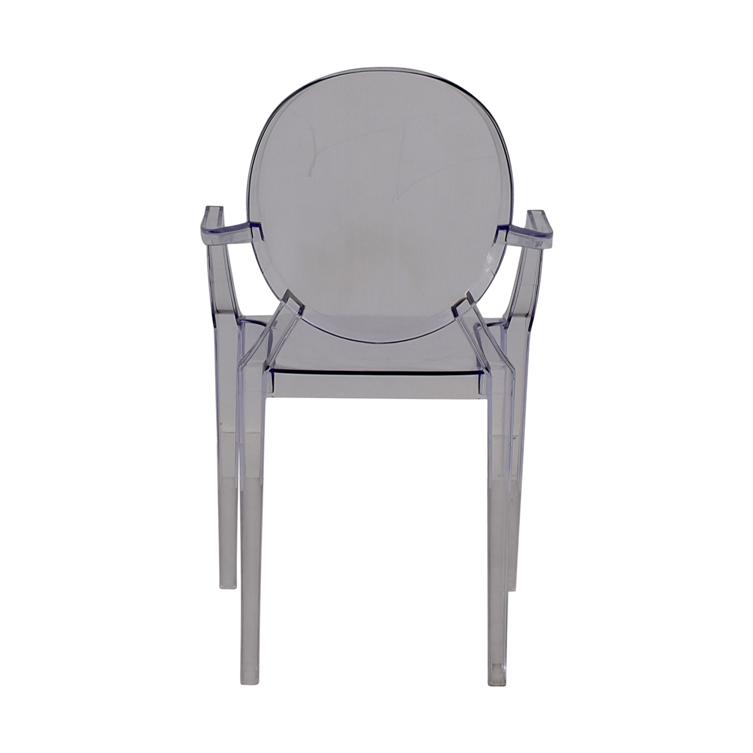 shop Casper Round Ghost Arm Chair Casper Accent Chairs