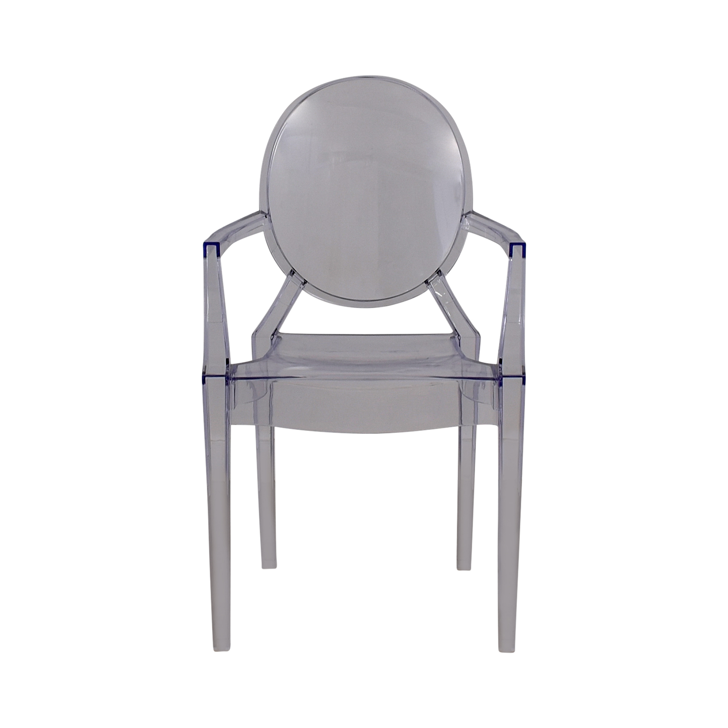 shop Casper Round Ghost Arm Chair Casper Chairs