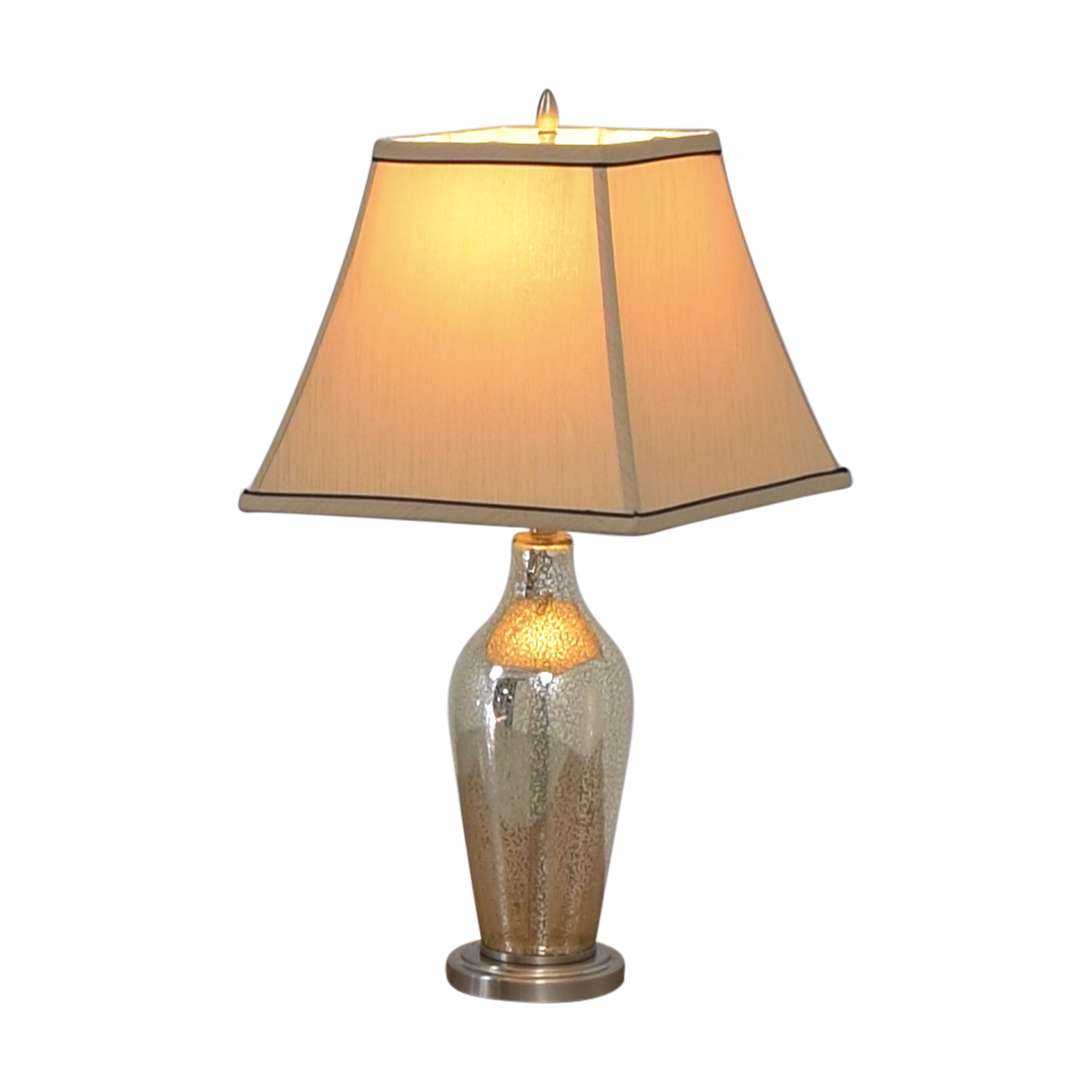 75% OFF - Hampton Bay Hampton Bay Glass Table Lamp / Decor