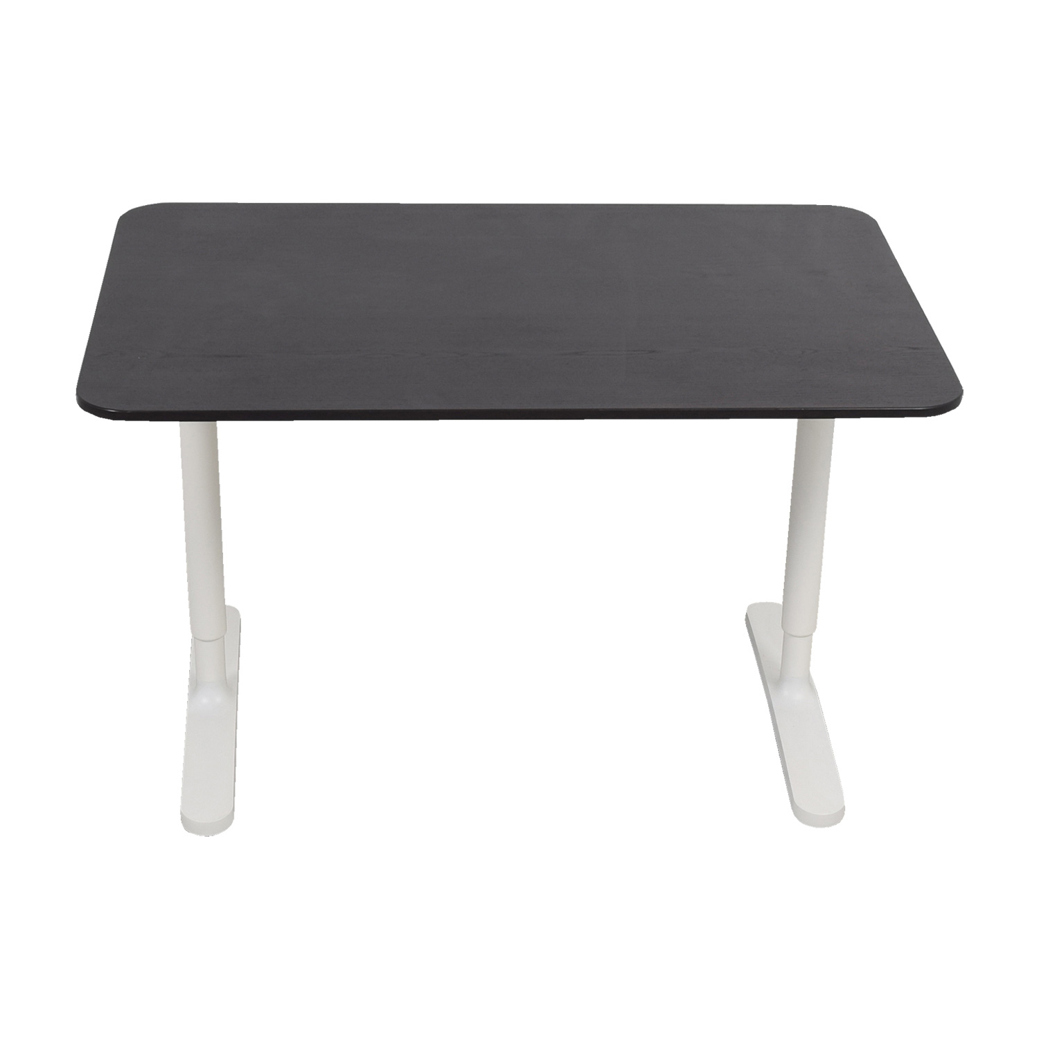 IKEA IKEA Bekant Adjustable Black and White Desk discount