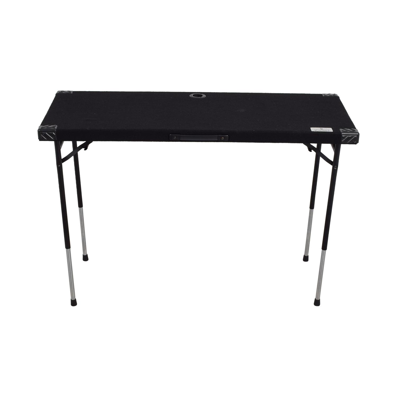 Grundorf Black Adjustable Table sale