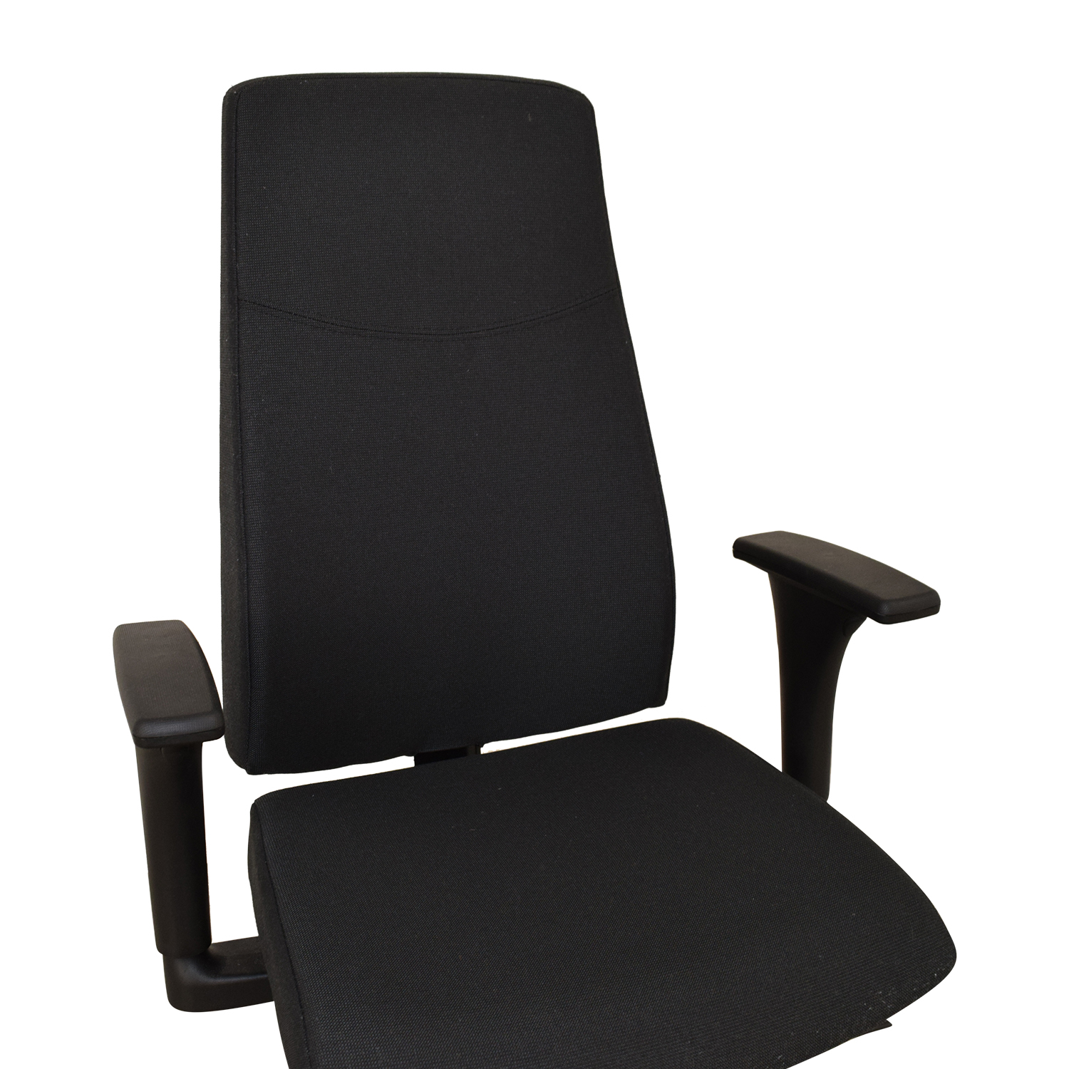 83 Off Ikea Ikea Volmar Grey Office Chair With Arms