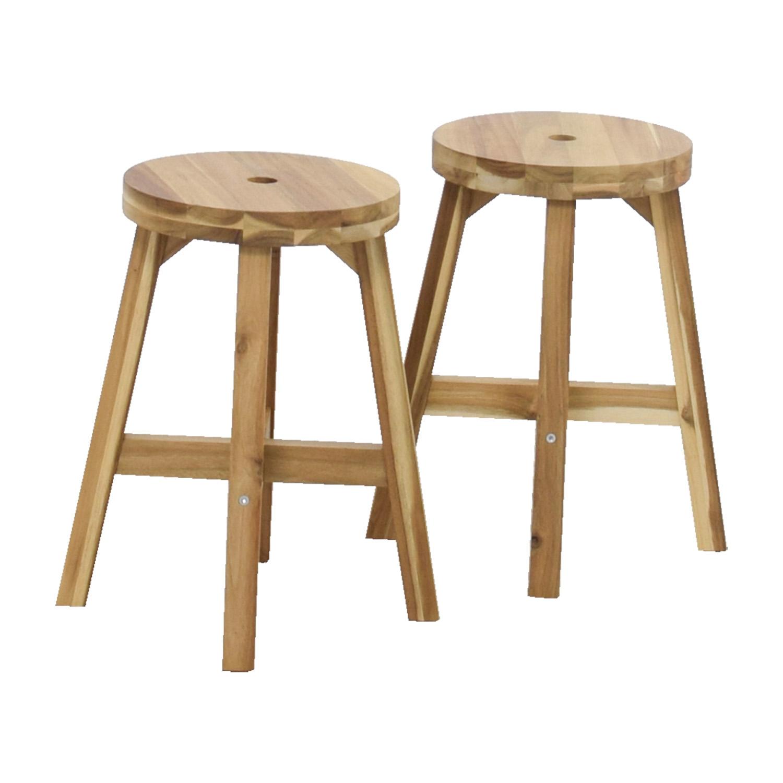 50 off ikea ikea skogsta natural stools chairs. Black Bedroom Furniture Sets. Home Design Ideas