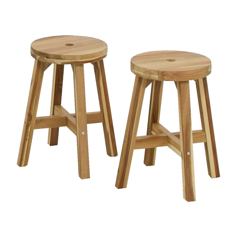 Ikea Stools: IKEA IKEA Skogsta Natural Stools / Chairs