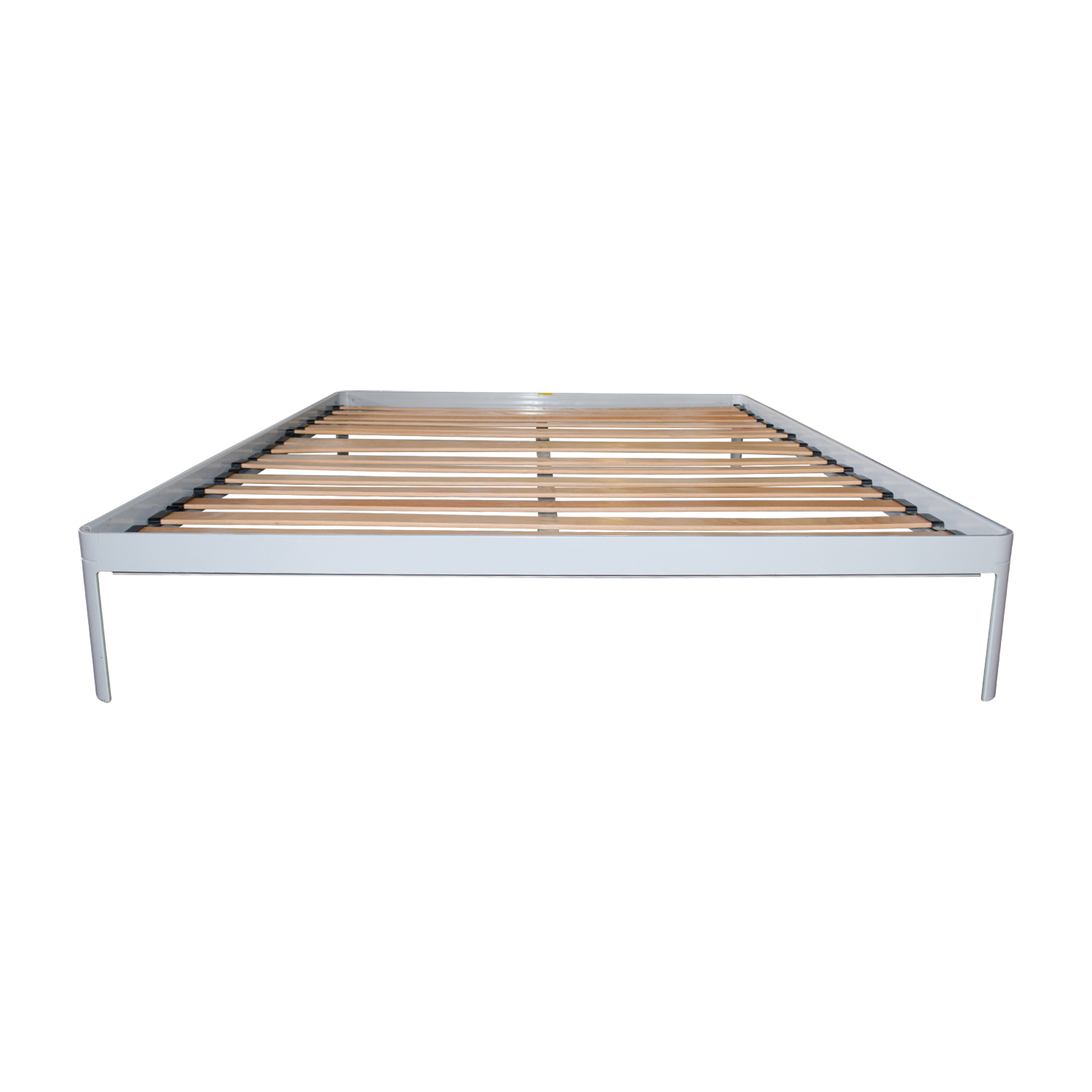 Design Within Reach Grey Queen Platform Bed Frame sale