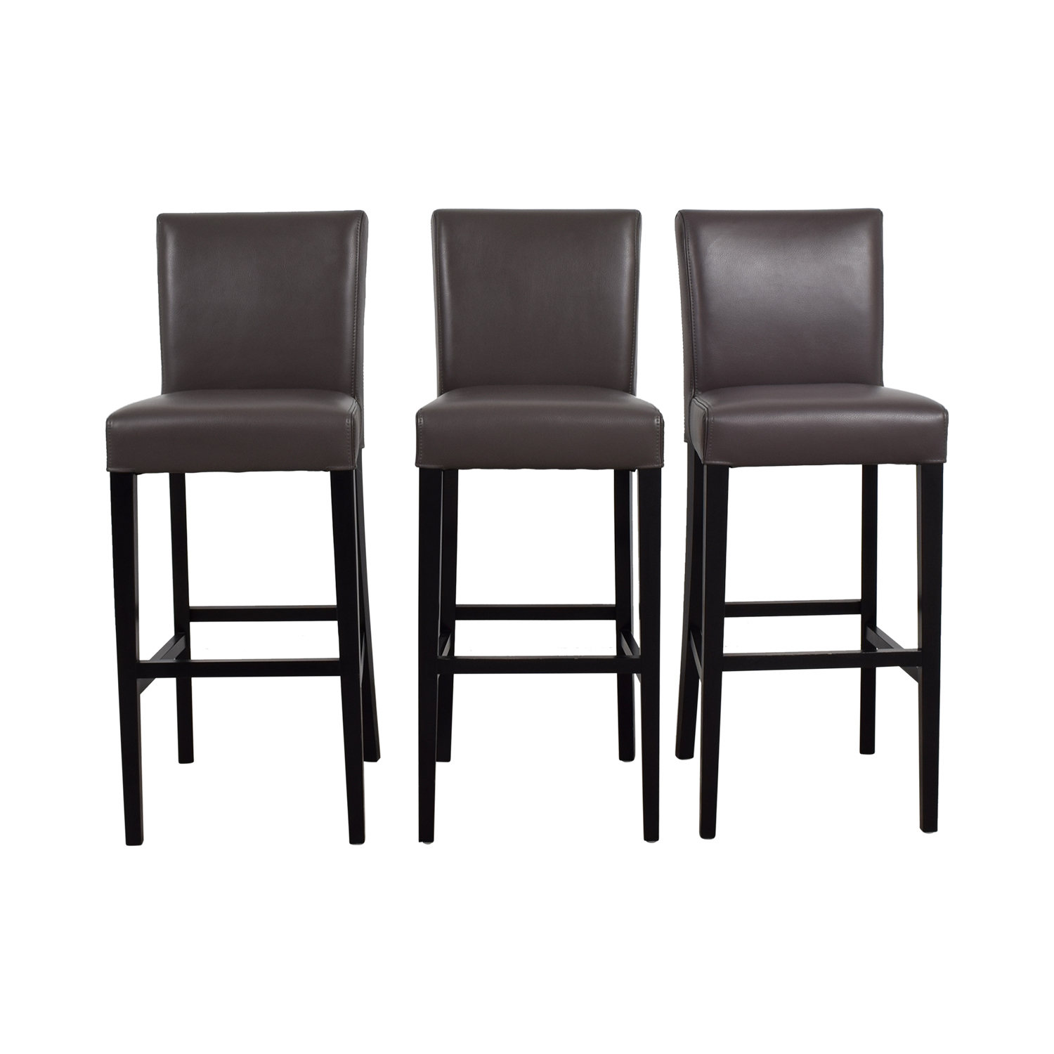 with copper form leather dan bar stool pair stools orso buy black cap legs oak