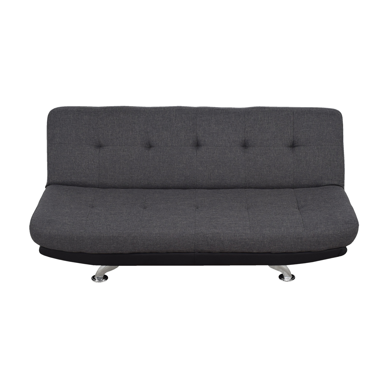 DHP DHP Skyline Charcoal Futon Sofa nyc