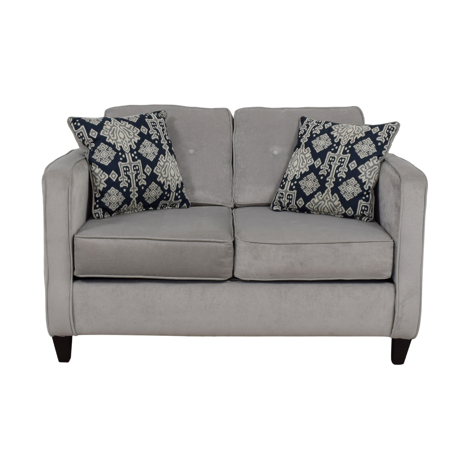 Mercury Row Mercury Row Serta Grey Upholstery Cypress Loveseat On Sale ...