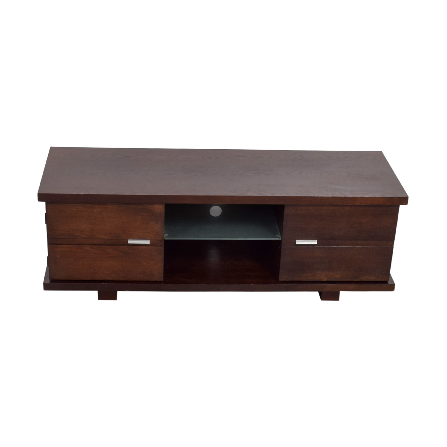 Wood TV Console / Storage