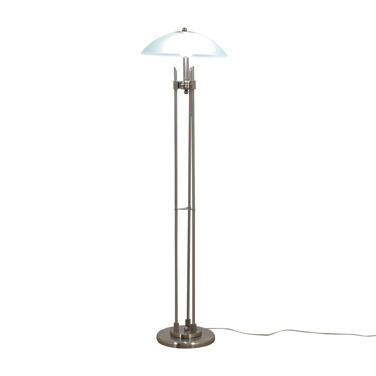 66 off stainless steel floor lamp decor stainless steel floor lamp nyc aloadofball Images