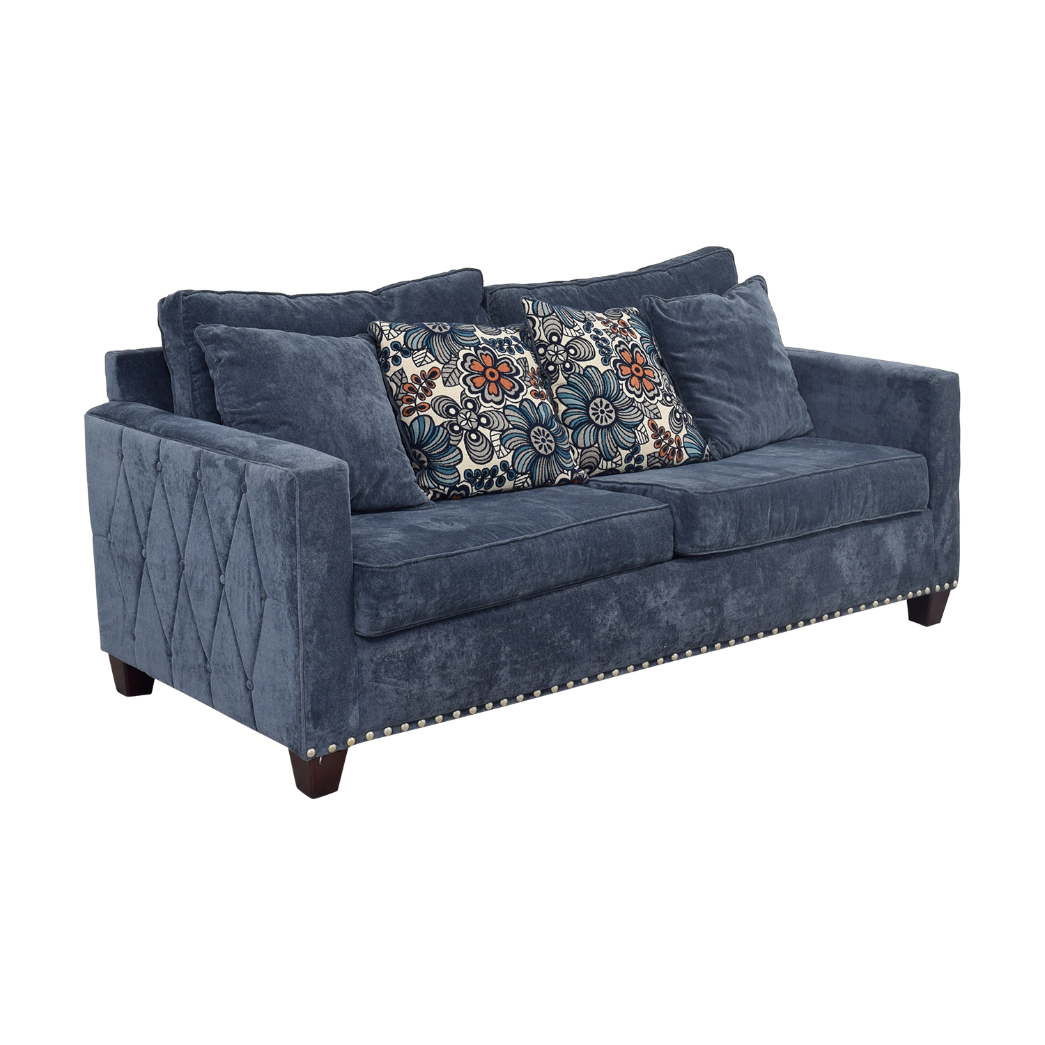 43 Off Bob S Furniture Bob S Furniture Melanie Navy